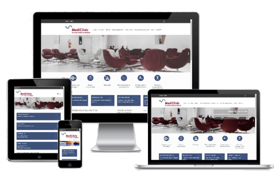 sito responsive MediClinic